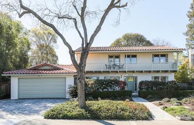Palo Alto Single Family Home For Sale: 3588 Arbutus Avenue