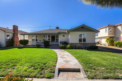 Santa Clara Single Family Home For Sale: 710 North Winchester Boulevard