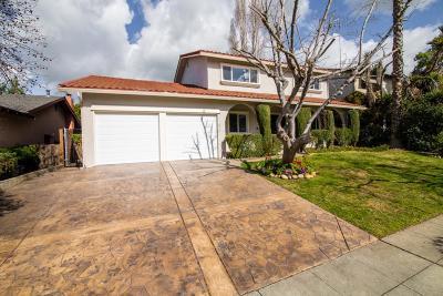San Jose Single Family Home For Sale: 3281 Fronda Drive