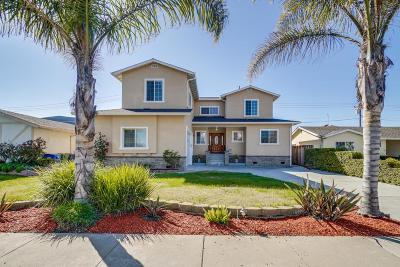 Milpitas Single Family Home For Sale: 59 Whittier Street