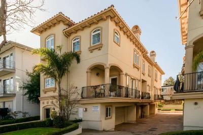 Burlingame Condo/Townhouse For Sale: 1137 Paloma Avenue #J