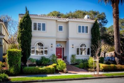Burlingame Single Family Home For Sale: 1153 Cabrillo Avenue