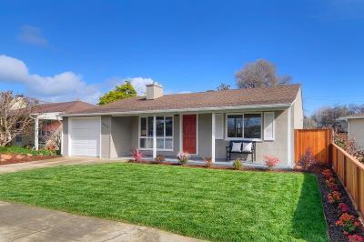 San Mateo Single Family Home For Sale: 3945 Gillis Drive