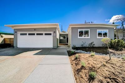 Millbrae Single Family Home For Sale: 835 Robin Lane