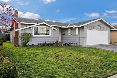Milpitas Single Family Home For Sale: 1724 Big Bend Drive