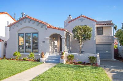 Millbrae Single Family Home For Sale: 207 Taylor Boulevard