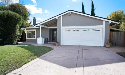 San Jose Single Family Home For Sale: 3617 Cuen Court