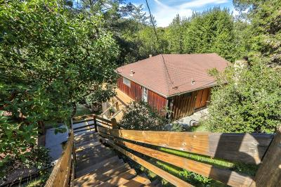 Los Gatos Single Family Home For Sale: 21441 Aldercroft Heights