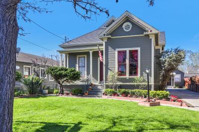 Santa Clara Single Family Home For Sale: 626 Lincoln Street