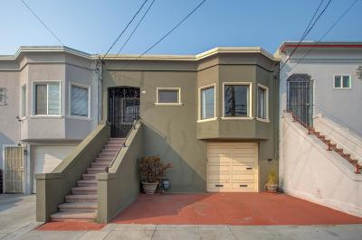 San Francisco Single Family Home For Sale: 762 Athens Street