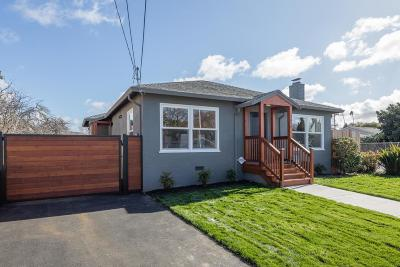 San Mateo Single Family Home For Sale: 1016 Cypress Avenue