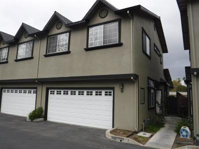 Santa Clara Condo/Townhouse For Sale: 817 Creekside Place