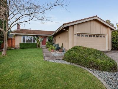 Gilroy Single Family Home Pending Show For Backups: 7393 Crawford Drive