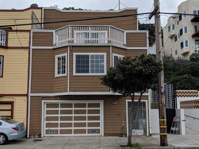 San Francisco Single Family Home For Sale: 833 Ingerson Avenue