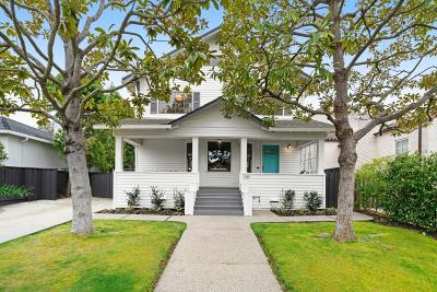 Burlingame Single Family Home For Sale: 1429 Cortez Avenue