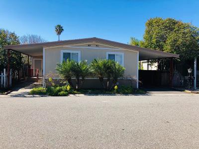San Jose Mobile Home For Sale: 1434 Sunshade Lane