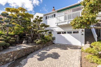Millbrae Single Family Home For Sale: 15 El Bonito Way