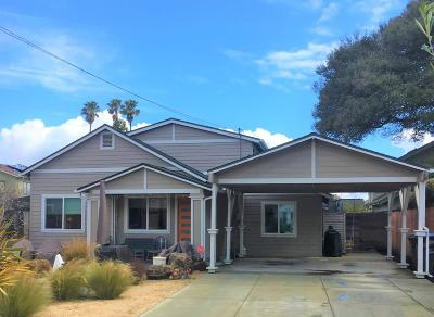 Santa Cruz Single Family Home For Sale: 336 Frederick Street #B