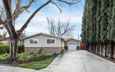 Santa Clara Single Family Home For Sale: 613 Los Padres Boulevard