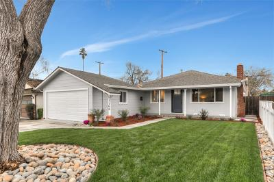 Santa Clara Single Family Home For Sale: 1169 Las Palmas Drive