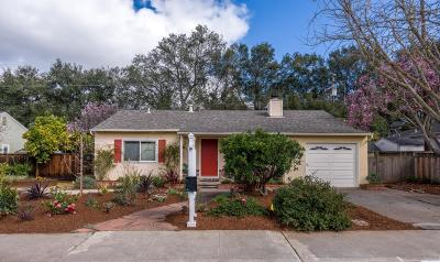 Mountain View Single Family Home For Sale: 1719 Begen Avenue