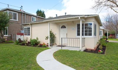 Mountain View Single Family Home For Sale: 1801 Latham Street