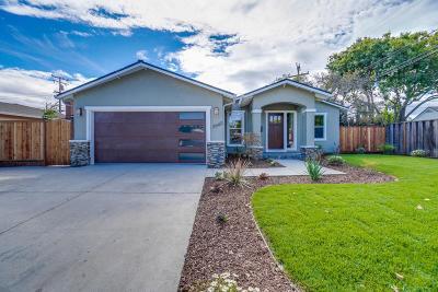 Santa Clara Single Family Home For Sale: 2640 Monroe Street