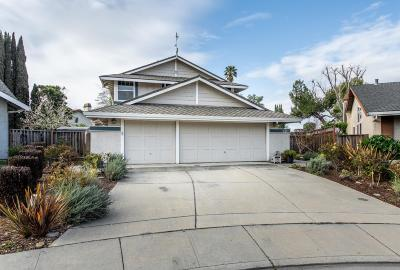 Milpitas Single Family Home For Sale: 629 Mercado Court