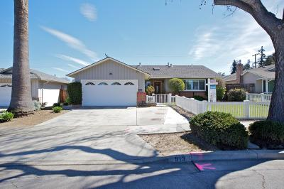 Sunnyvale Single Family Home For Sale: 913 Carson Drive