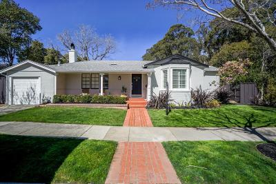 Burlingame Single Family Home For Sale: 1100 Oxford Road