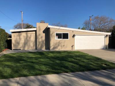 Santa Clara Single Family Home For Sale: 1405 McPherson Street
