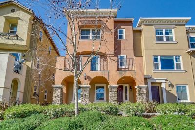 Milpitas Condo/Townhouse For Sale: 1843 McCandless Drive