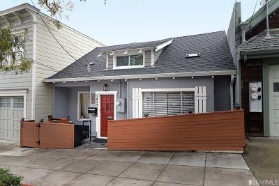 San Francisco Single Family Home For Sale: 1413 Noe Street