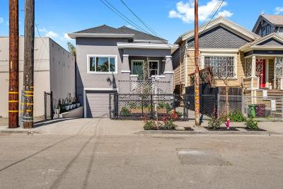 Oakland CA Single Family Home For Sale: $599,000