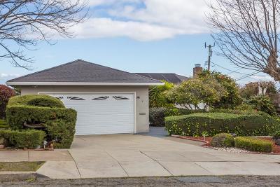 Millbrae Single Family Home For Sale: 6 Corte Dorado