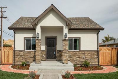 Santa Clara Single Family Home For Sale: 1791 Clay Street