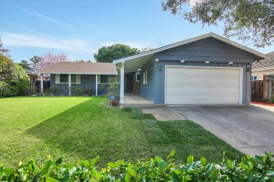 Cupertino Single Family Home For Sale: 874 South Stelling Road