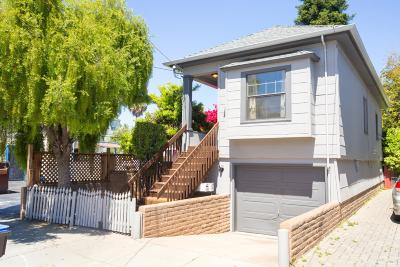 Santa Cruz Single Family Home For Sale: 212 Cedar Street