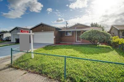 Milpitas Single Family Home For Sale: 1831 Conway Street