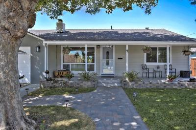 San Lorenzo Single Family Home Pending Show For Backups: 17633 Via Toledo
