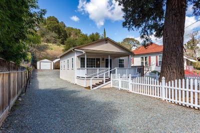 Sunol Single Family Home For Sale: 11847 Foothill Road