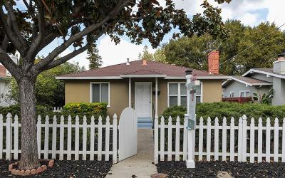Mountain View Single Family Home For Sale: 756 Calderon Avenue