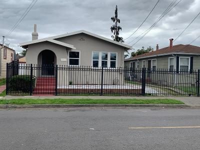 Oakland Single Family Home Sold: 1962 82nd Avenue