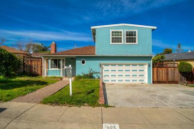 Millbrae Single Family Home For Sale: 526 Anita Lane