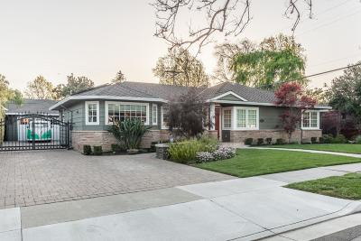 San Jose Single Family Home For Sale: 2461 Marsha Way