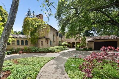 Palo Alto Single Family Home For Sale: 1600 Bryant Street