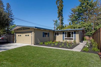 Mountain View Single Family Home For Sale: 306 Nita Avenue