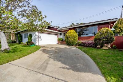 San Mateo Single Family Home For Sale: 1245 Vernon Terrace