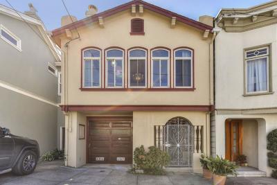 San Francisco Single Family Home For Sale: 739 23rd Avenue