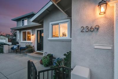 San Jose Single Family Home For Sale: 2369 Plummer Avenue